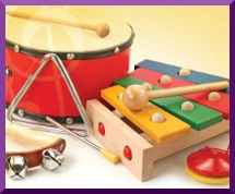 Summer Music Camp instruments
